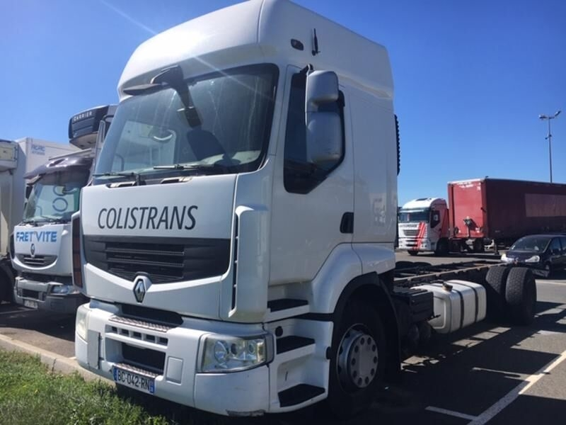 RENAULT PREMIUM 380 DXI 19T EURO5 chassis truck